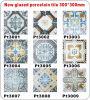 Hölzerne rustikale keramische Fußboden-Fliese/Verglasung Porzellan-Fliese