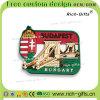 Magneti del frigorifero del PVC del ricordo con i regali Budapest Ungheria (RC-HY) di promozione