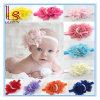 Farben-Stirnband heißes des Art-Baby-elastisches Rosen-Perlen-Blumen-Haar-Band-Haar-Zubehör-Gummireifen-13