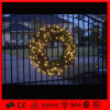 Luz ao ar livre impermeável da grinalda do Natal da decoração do diodo emissor de luz