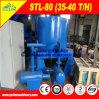 Centrifuga automatica di scarico per la strumentazione del concentratore di estrazione dell'oro del minerale metallifero