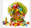 Árvores e frutas brinquedos de madeira DIY