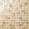 FloorのためのガラスモザイクReal Gold高いGrade Tile