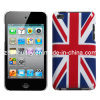 UK Flag Smooth Plastic Hard Skin Case Cover for iPhone