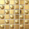 Mosaico misto di Electropalte della stagnola di oro (A4808)