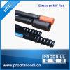 3660 milímetros Rod Drilling rosqueado -4270mm para o martelo superior