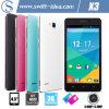 高品質4.5のインチMtk6572はコア二重SIM Smartphone (X3)二倍になる