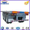 De wijd Gebruikte Semi Aanhangwagen van de Container met Flatbed As 3