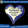 최신 판매 귀여운 기념품 결혼 선물 접어젖힌 옷깃 Pin