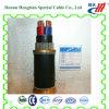 Cable de transmisión concéntrico de cobre del PVC de Nyy Nycy