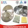 Lámina dividida en segmentos mercado del diamante de Irán Egipto Turquía