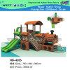 Cour de jeu extérieure de vente chaude de train de cour de jeu pour les gosses (HD-4205)