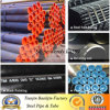 ASTM A53, BS1387, ISO65 geschweißtes Kohlenstoffstahl-Rohr mit schwarzem Farbanstrich oder Rostschutz in der Oberfläche