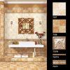 Azulejo de suelo y frontera y azulejo de cerámica rústicos interiores de la pared