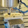 CNC機械化アルミニウム機械化の部品の金属部分自動CNC