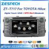 Lettore DVD dell'automobile del sistema Wince6.0 per Toyota Hilux