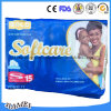 Couche-culotte absorbante rapide de bébé du Kenya Softcare avec la surface molle