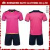 Uniformes cor-de-rosa e pretos feito-à-medida populares de Jersey do basquetebol (ELTSJI-37)