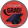 Porción disponible del vajilla de las placas de papel de la graduación