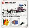 Bolso no tejido popular del chaleco del mercado que hace la máquina Zxl-A700