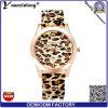 Vigilanze più poco costose di marchio su ordinazione di qualità del leopardo della vigilanza di modo promozionale Yxl-180 delle signore di sport di moda degli uomini di gomma dell'orologio