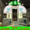 La DEL modulaire portative faite sur commande a illuminé le stand de cabine d'exposition de salon