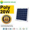 Calificar un precio fotovoltaico chino del panel solar 20watt