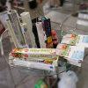 Nahrung des Scherblock-Kasten-PE/PVC haften Verzerrung, riesige Rolle an