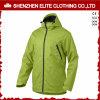 여자 소녀 (ELTSNBJI-7)를 위한 고품질 녹색 Shoftshell 겨울 스키 재킷