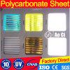 Het 100% Ingevoerde Materiële Kleurrijke Blad van het Polycarbonaat