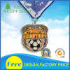 Liberare la medaglia del metallo di sport del ricordo di disegno per il prezzo di fabbrica e del commercio all'ingrosso