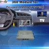 Surface adjacente de vue arrière et de panorama 360 pour Peugeot 3008 5008 etc. neufs avec l'écran Bleu-Je de moulage d'entrée de signal de système Lvds RVB