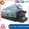 Chaudière à chaînes industrielle de chauffage de charbon de tube d'incendie de grille
