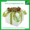 Caja de embalaje de empaquetado de la torta de cartón del regalo de lujo de la caja