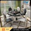 Cadeira de jantar redonda e tabela do mármore chinês da mobília