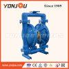 Pressluftbetätigte Pumpe, pressluftbetätigte Membranpumpe