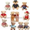 Orsacchiotto dell'orso farcito seduta del commercio all'ingrosso 35cm, orso del giocattolo della peluche, orso dell'orsacchiotto della peluche