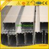 Perfil de alumínio de fornecimento da parede de cortina da extrusão da fábrica do alumínio do ISO 9001