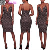 Fashion Dress L36181 d'été de Madame sexy élégante en gros