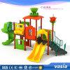 Patio al aire libre de la venta de Huaxia de la alta del cabrito diapositiva plástica caliente del oscilación