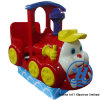 Pequeña máquina de juego feliz del paseo del Kiddie del tren