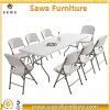 Отлитый в форму дуновением пластичный стул складчатости с таблицей