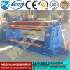 Máquina de rolamento simétrica hidráulica da placa de três rolos Mclw11nc-20*2300, máquina de dobra