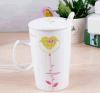 Tazza di caffè su ordinazione di ceramica della tazza di tè della novità con ECG