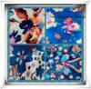 Tissu Chiffon imprimé par fleur/tissu en soie de mousseline de soie de la mousseline de soie Fabric/Printed