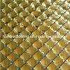 Mosaico amarillo del diamante del azulejo de mosaico del espejo (HD037)