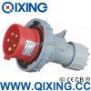 Qixing 유럽 기준 남성 산업 플러그 (QX-300)