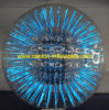 Bola inflable de Zorbing del nuevo resplandor 2013, bola Shinning de Zorb con el material del PVC de la alta calidad 0.85m m