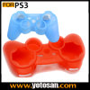 Playstationのための無線Game Controller Ilicone Case Skin Cover 3 PS3
