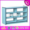 Personalizar o gabinete de madeira W08c190 do livro da mobília colorida das crianças